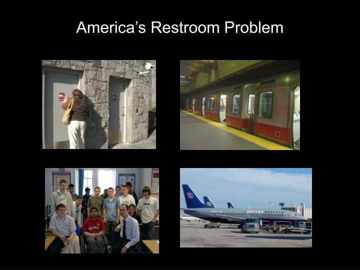 America's Restroom Problem
