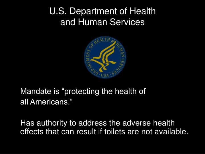 U.S. Department of Health