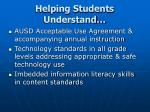 helping students understand