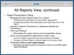 all reports view continued19