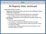 all reports view continued21