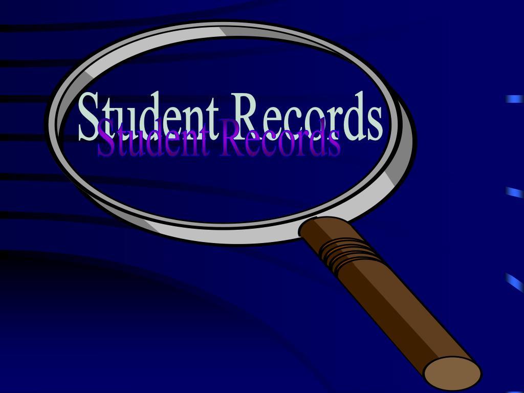 Student Records
