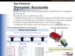 key features dynamic accounts