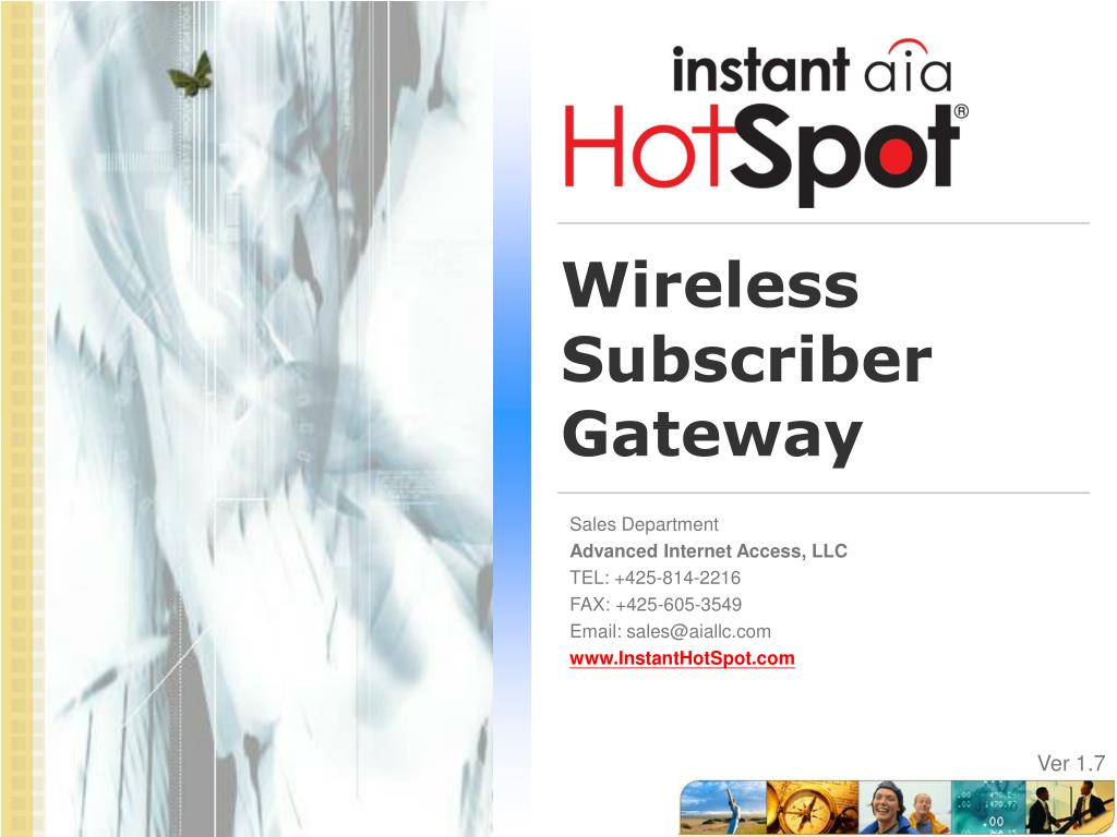 wireless subscriber gateway l.