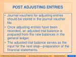 post adjusting entries18