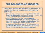the balanced scorecard58