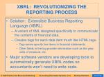 xbrl revolutionizing the reporting process42