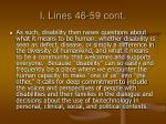 i lines 46 59 cont