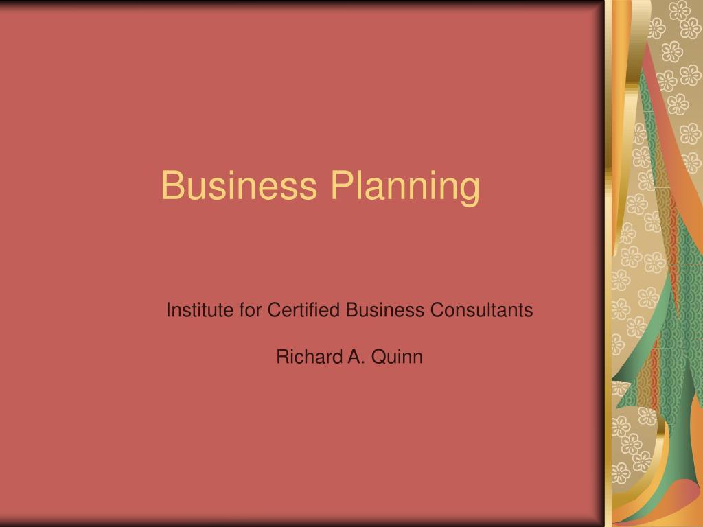 business planning l.