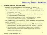 directory service protocols25