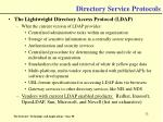 directory service protocols32