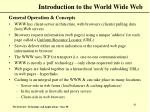 introduction to the world wide web41