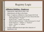 registry logic15