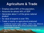 agriculture trade