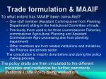 trade formulation maaif