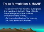 trade formulation maaif15