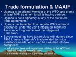 trade formulation maaif16