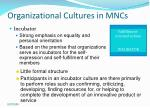 organizational cultures in mncs18