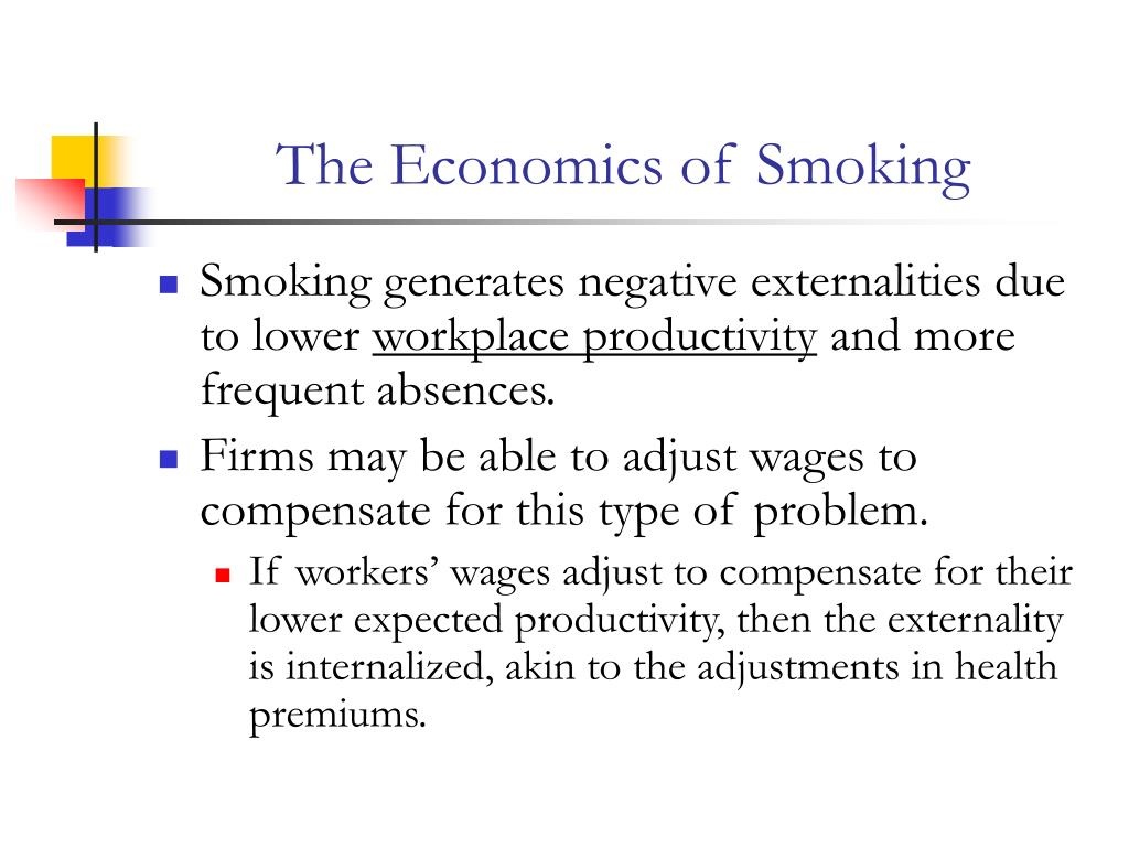 The Economics of Smoking