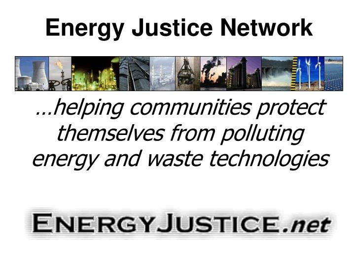 Energy Justice Network
