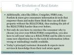 the evolution of real estate7