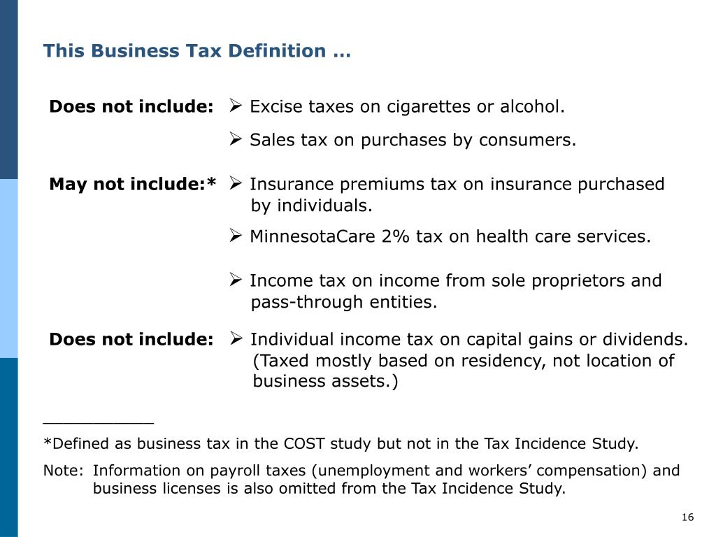 This Business Tax Definition …