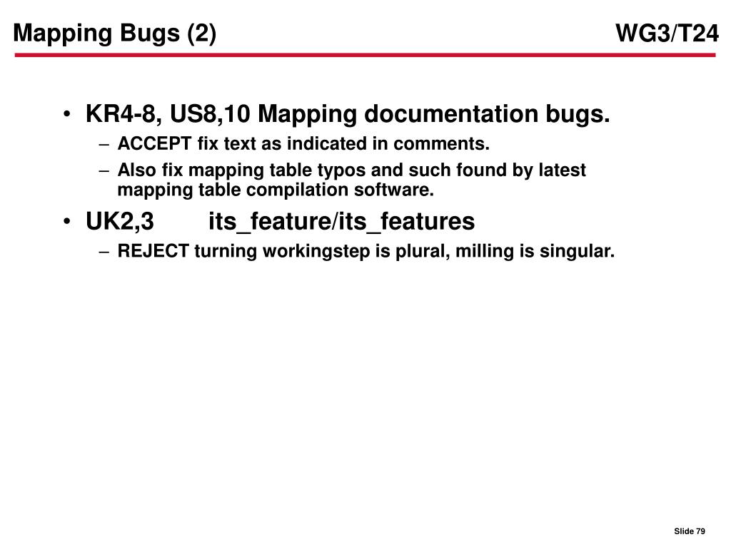 Mapping Bugs (2)