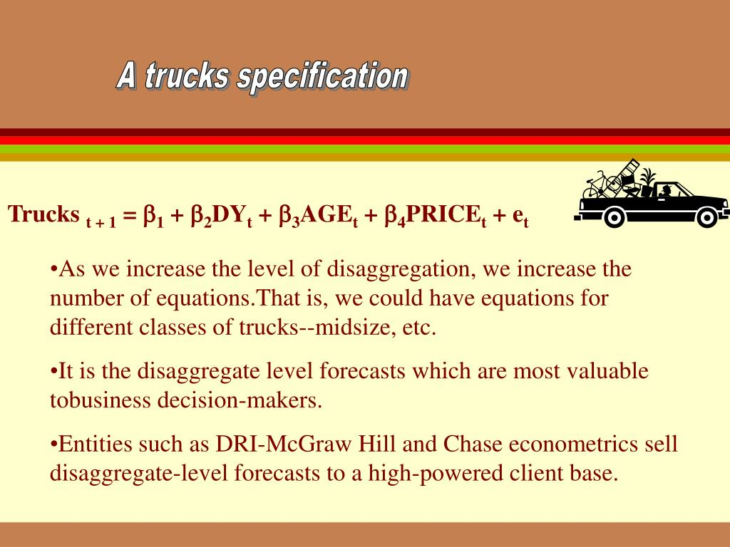 A trucks specification