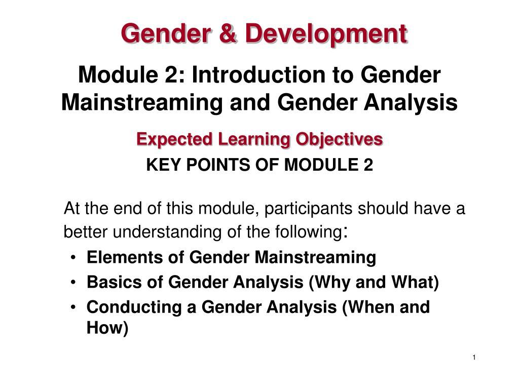 Gender &
