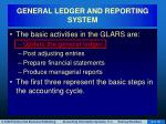general ledger and reporting system8
