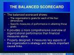 the balanced scorecard53