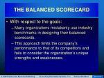 the balanced scorecard54
