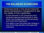 the balanced scorecard59