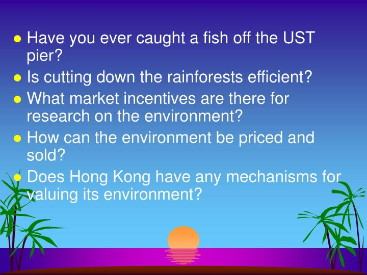 Have you ever caught a fish off the UST pier?