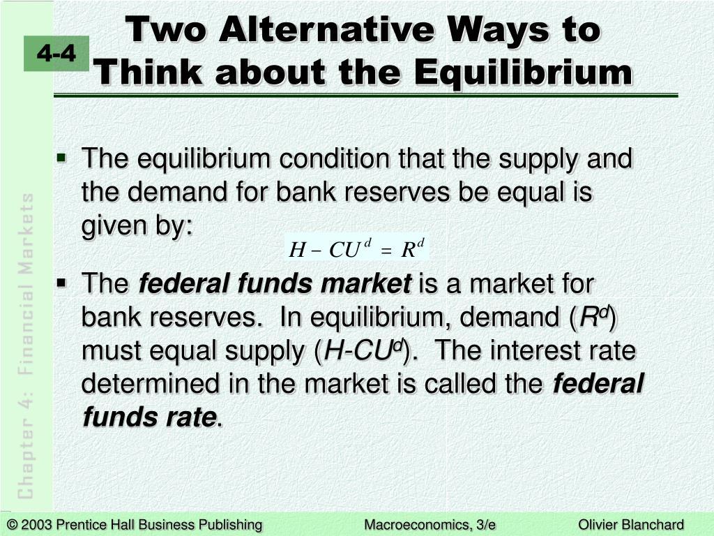 Two Alternative Ways to