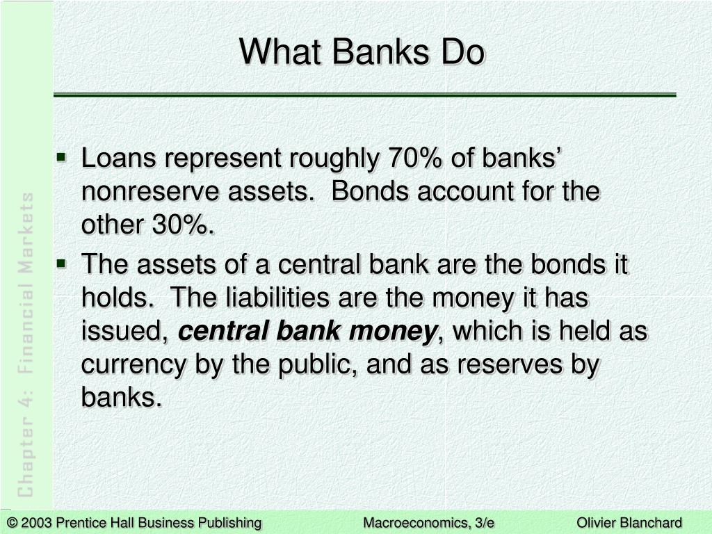 What Banks Do