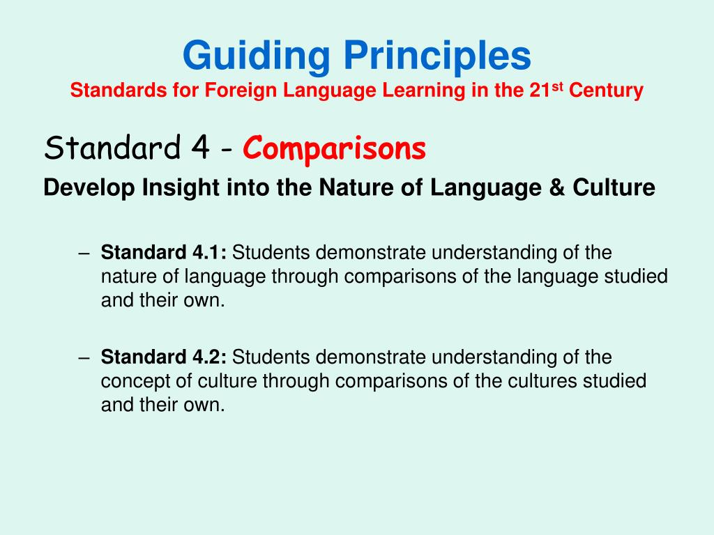 understanding foreign language learning