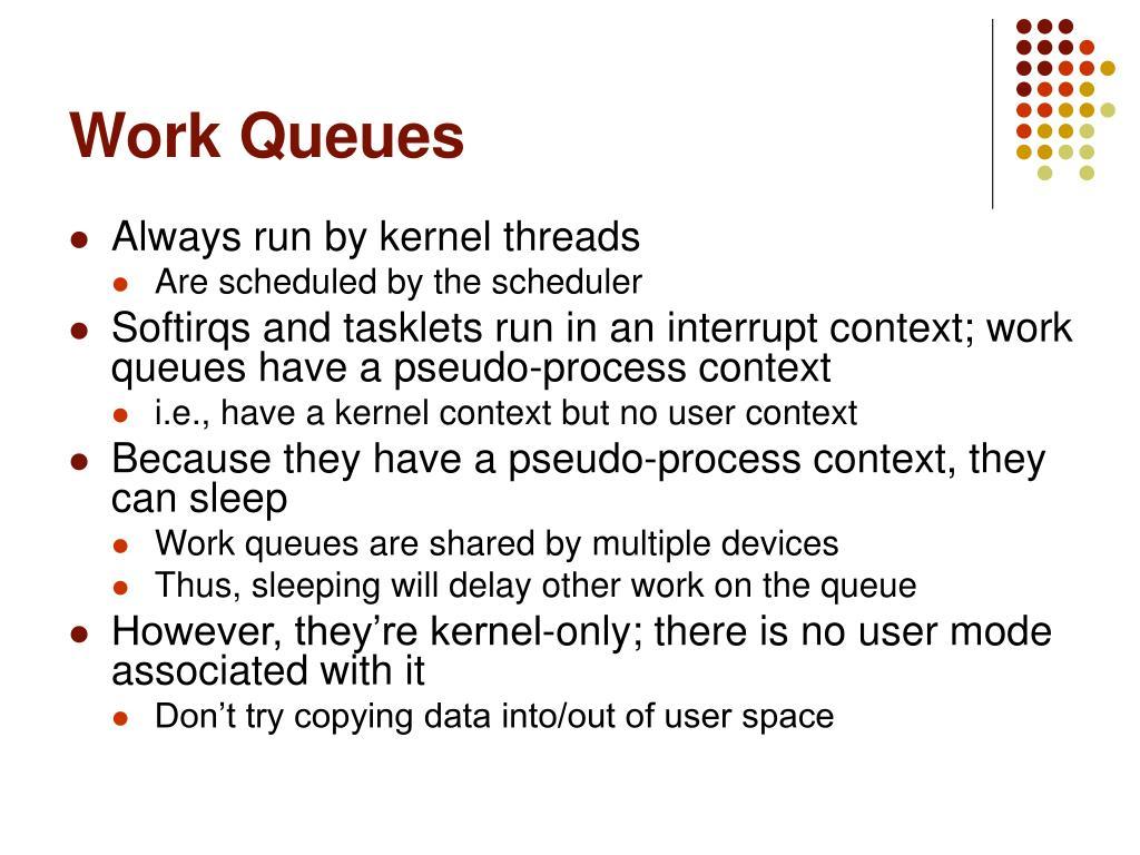 Work Queues