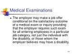 medical examinations63