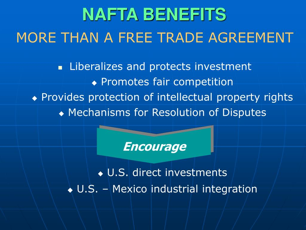 NAFTA BENEFITS