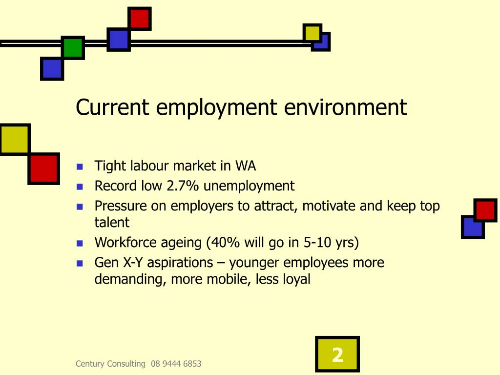 Current employment environment