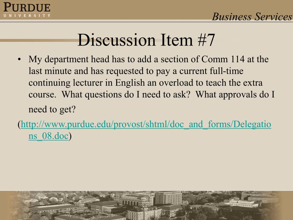 My department head has to add a section of Comm 114 at the last minute and has requested to pay a current full-time continuing lecturer in English an overload to teach the extra course.  What questions do I need to ask?  What approvals do I need to get?