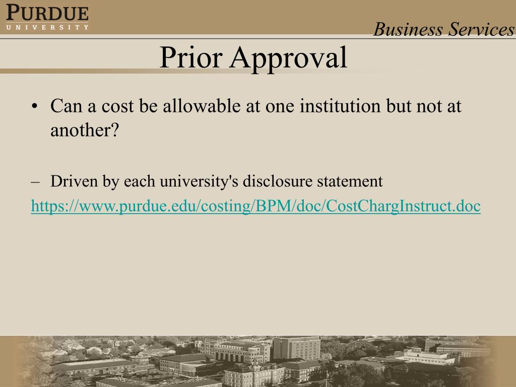 Can a cost be allowable at one institution but not at another?