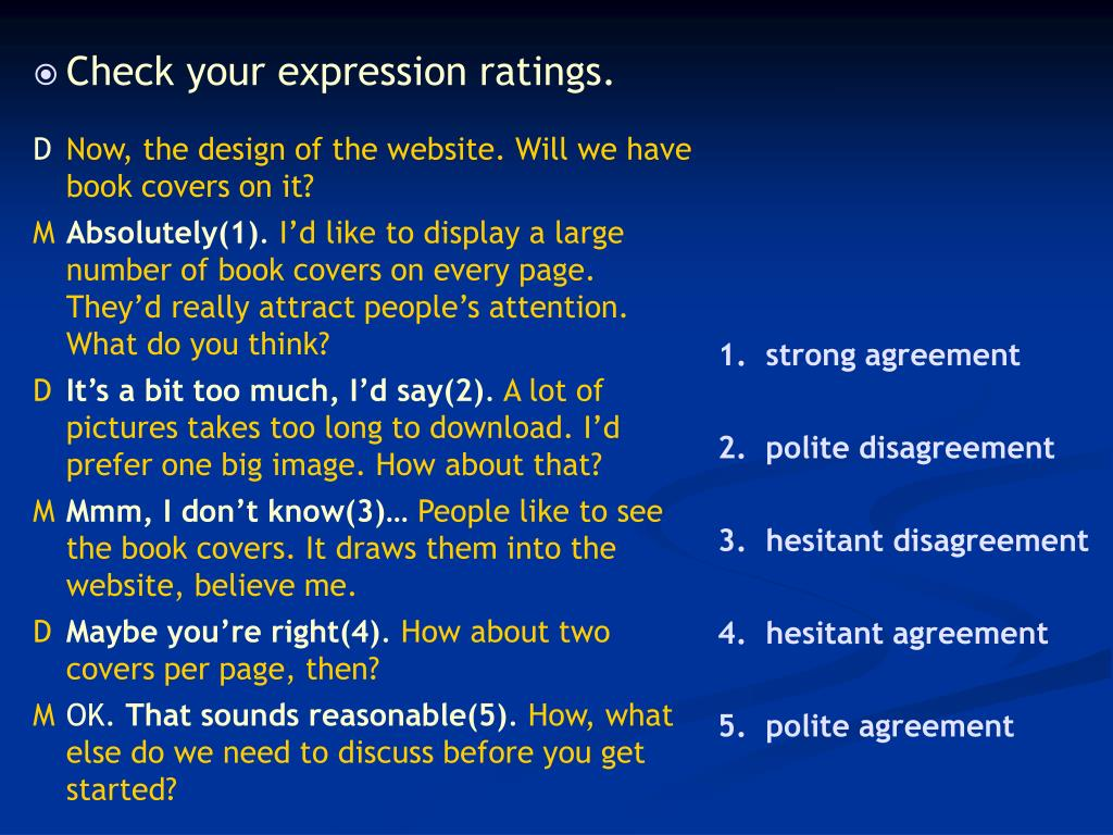 Check your expression ratings.