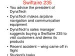 swiftaire 235