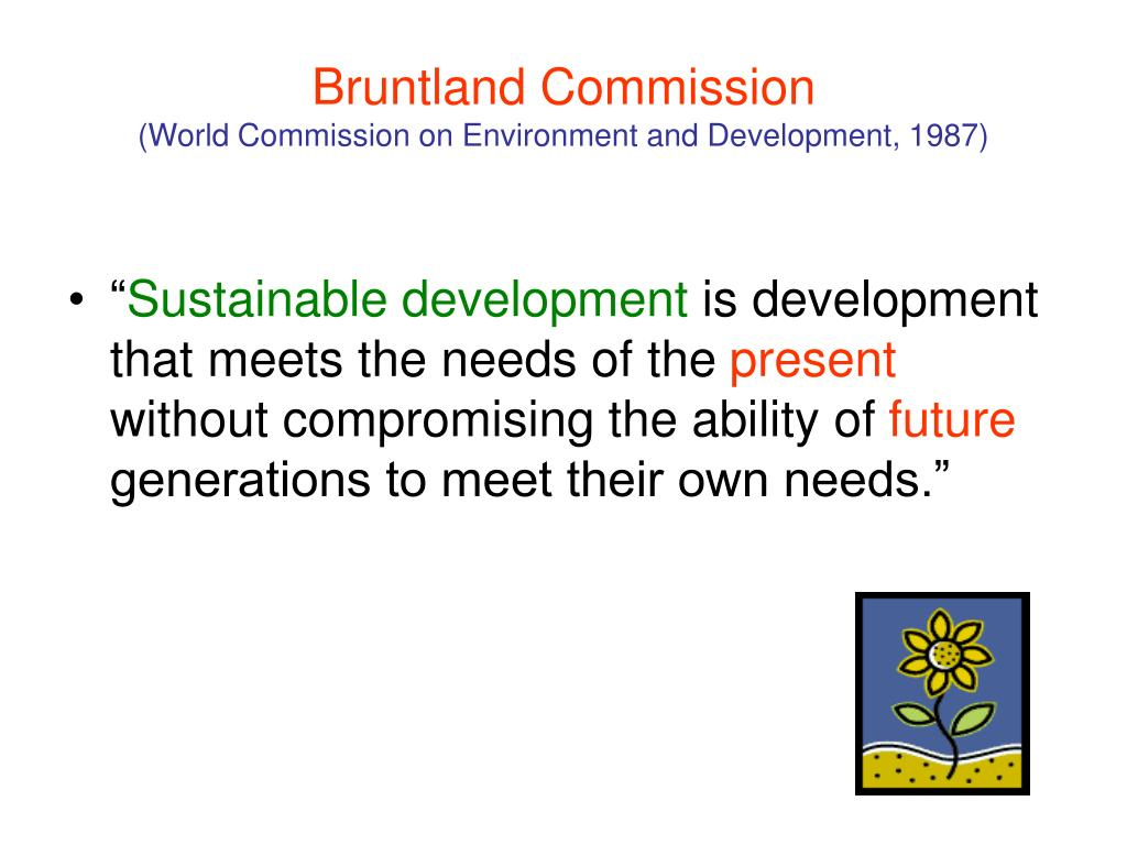 Bruntland Commission
