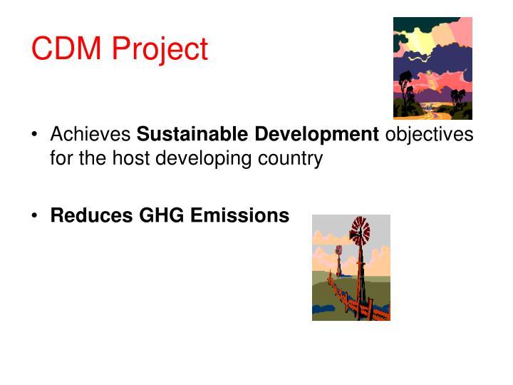 Cdm project
