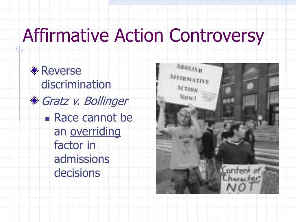 Affirmative Action Controversy