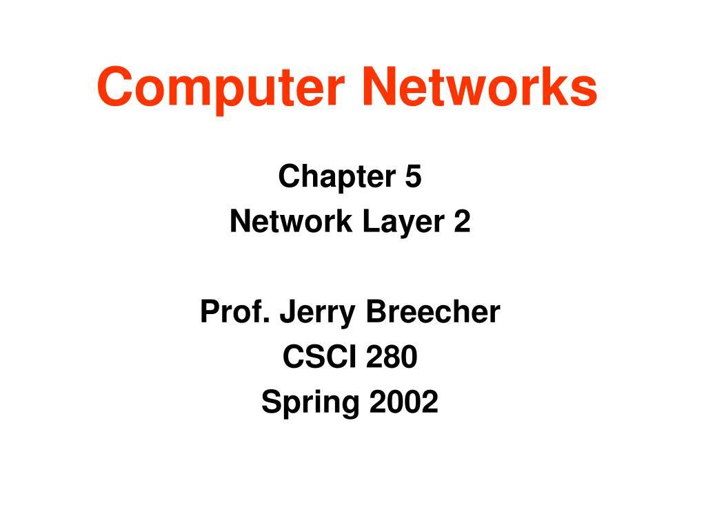 computer networks l.