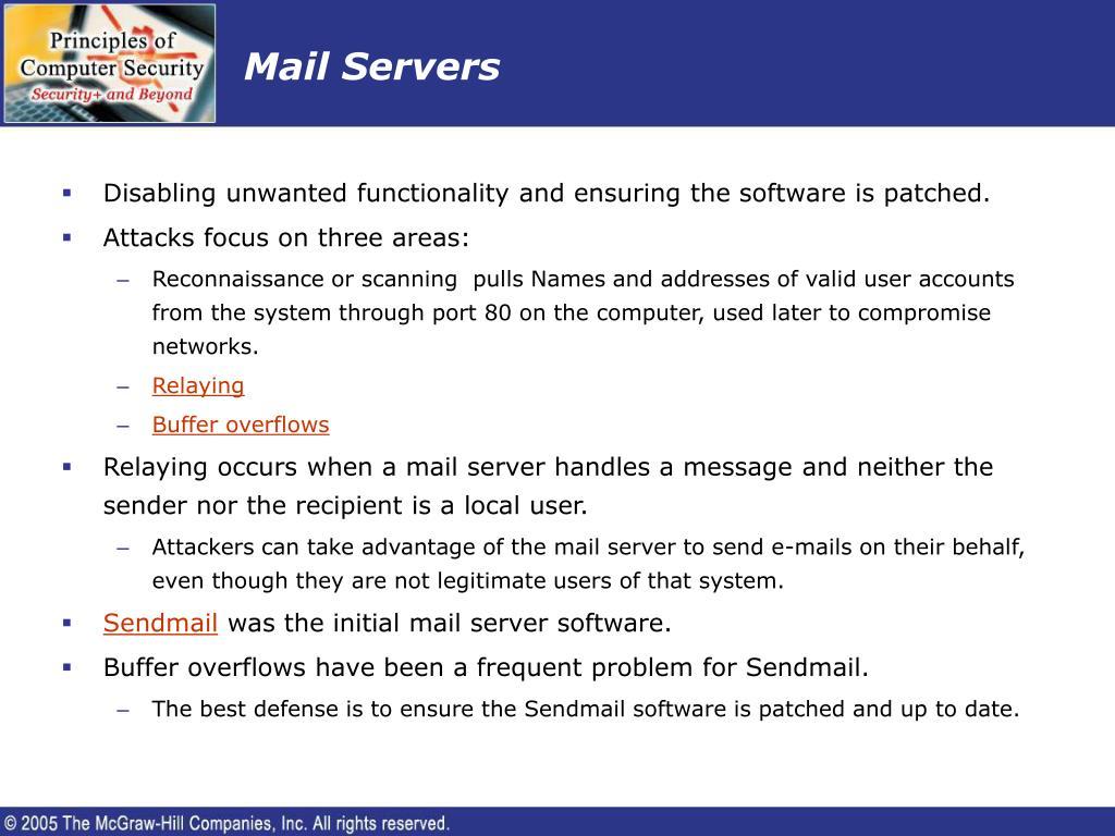 Mail Servers